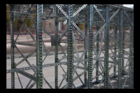 Meccano Bridge detail